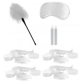 Белый игровой набор БДСМ Honeymoon Bondage Kit