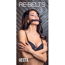Кляп-трензель Vesta с металлическими кольцами