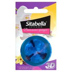 """Насадка стимулирующая Sitabella 3D """"Ванильная орхидея"""" с ароматом ванили и орхидеи"""